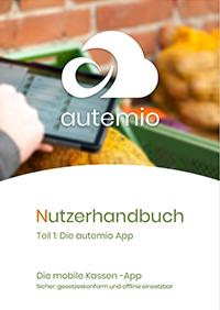 Titelseite Nutzerhandbuch autemio App